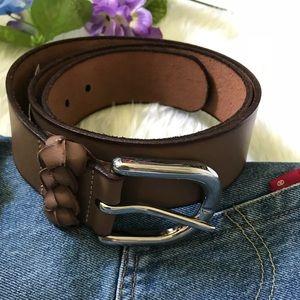 Loft Brown Leather Belt ‼️